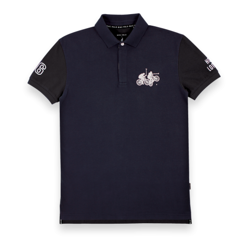 LHBP Polo - Navy & Black