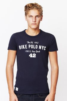 NYC 1942 Tee Sale - Navy