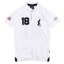 Varsity Polo Sale - White